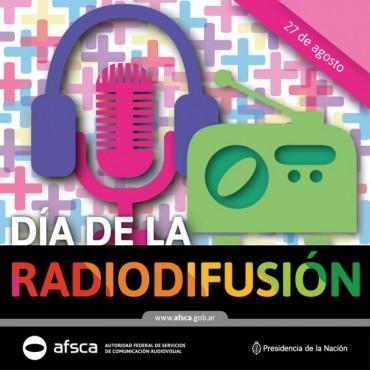 Hoy celebramos el Día de la Radiodifusión. Más voces, más Democracia.