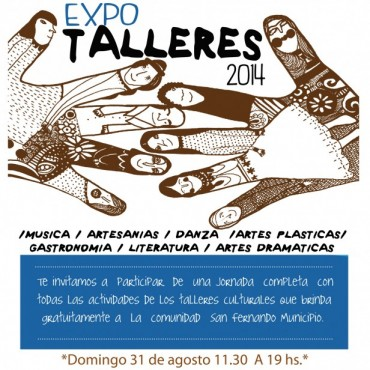 Se realizará la primera Expo Talleres de San Fernando, una gran muestra de los Centros Culturales