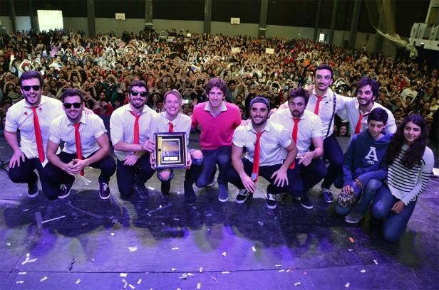 Agapornis hizo bailar a 5.000 personas en San Fernando