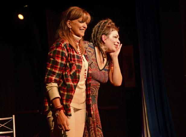 Claribel Medina y Adriana Salgueiro emocionaron al Teatro Martinelli