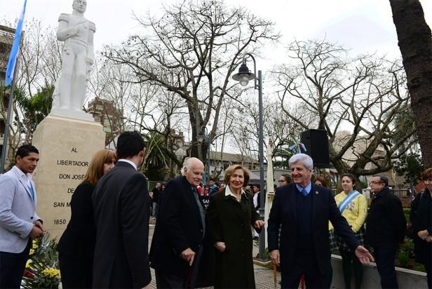 """Luis Andreotti: """"Debemos mirar a San Martín que es un ejemplo de esfuerzo, voluntad y sacrificio"""""""