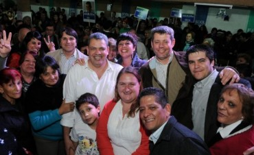 """Aguilera: """"Con Daniel Scioli vamos a sumar a San Fernando al camino de crecimiento y desarrollo"""""""