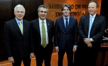 EL MERVAL RECIBIÓ AL PRESIDENTE DEL BCRA