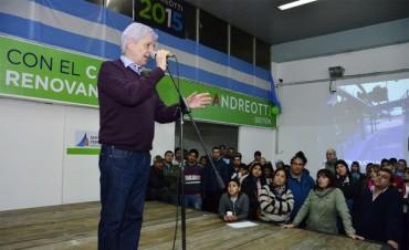 Luis Andreotti ganó con el 41% de los votos en San Fernando