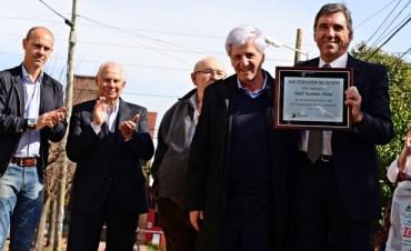 Luis Andreotti participó del 60 aniversario de Sant´ Antonio Abate