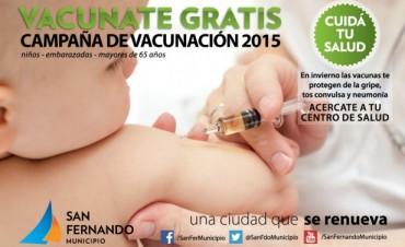 San Fernando ofrece la vacunación preventiva a todos los vecinos
