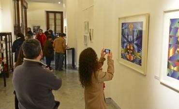 """Abrió """"Derivas gráficas"""", muestra de grabado y arte impreso en el Museo de San Fernando"""
