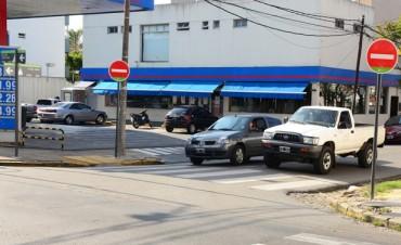El Municipio de San Fernando vuelve mano única la calle 9 de Julio entre la Av. Libertador y San Ginés