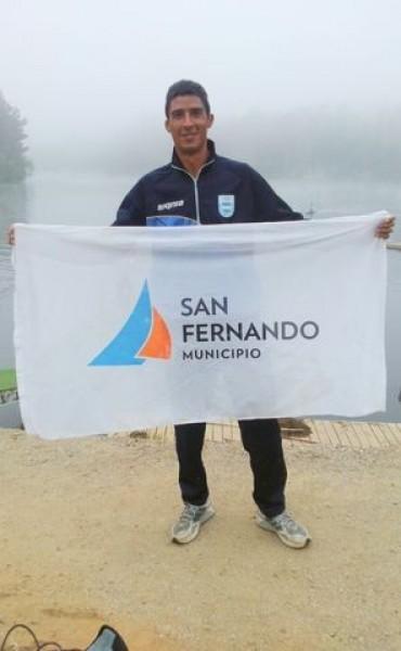 El palista sanfernandino Pablo De Torres competirá en los Juegos Olímpicos de Río 2016