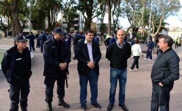 La Policía Local de San Fernando comenzó a entrenarse en las plazas
