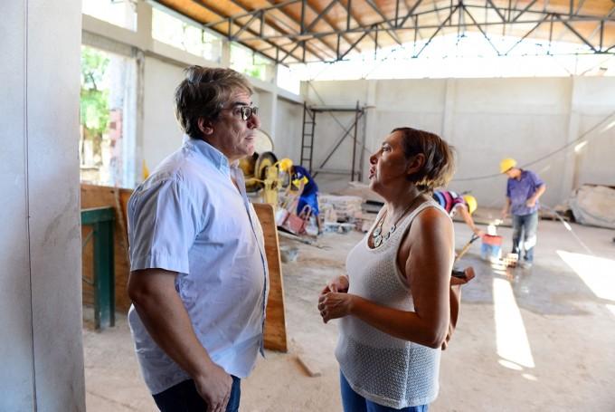 Con el apoyo del Municipio, los alumnos de la Escuela N° 5 de Virreyes Oeste volvieron a clase