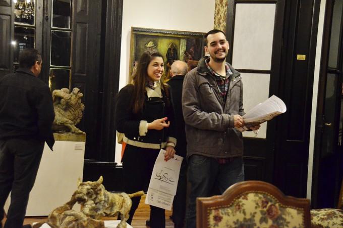 Se inauguró una exposición de obras de Lorenzo Gigli en San Fernando