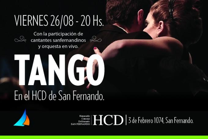 Noche de Tango en el HCD de San Fernando