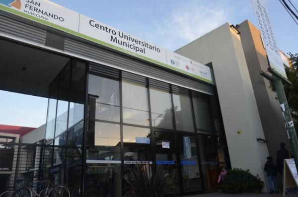 El Centro Universitario Municipal de San Fernando inició la inscripción a sus cursos de aeroportuarios