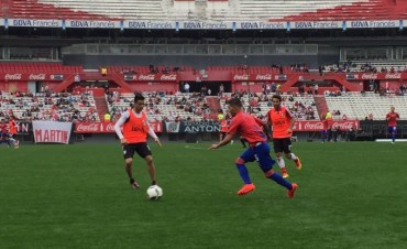 AMISTOSO DE PRETEMPORADA EN EL MONUMENTAL MILLONARIO ENTRE EL LOCAL RIVER VS. TIGRE