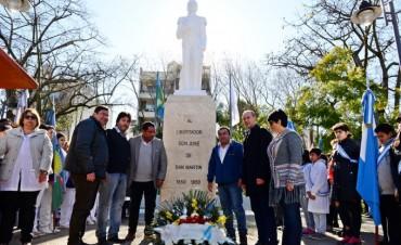 San Fernando conmemoró el 166° aniversario del paso a la inmortalidad del Gral. San Martín