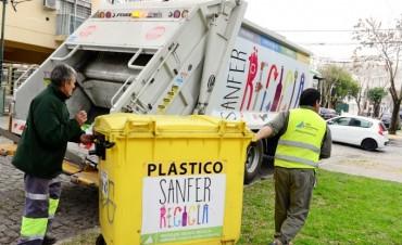 Con el 'Sanfer Recicla' se procesan 6 mil kilos semanales de residuos