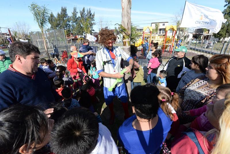 Comenzó el 'Mes del Niño' en San Fernando y cientos de familias disfrutaron en las plazas