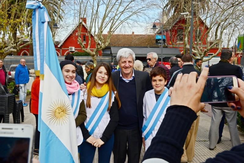 San Fernando homenajeó al Gral. San Martín en el 167° aniversario de su paso a la inmortalidad