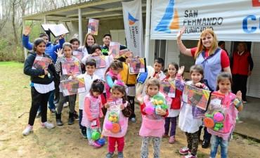 San Fernando organizó festejos por el Día del Niño en la Isla