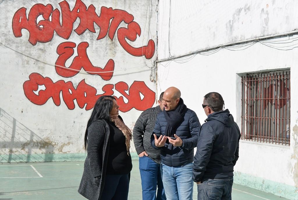 """San Fernando realizará una cancha de césped sintético en el Club """"El Expreso"""""""