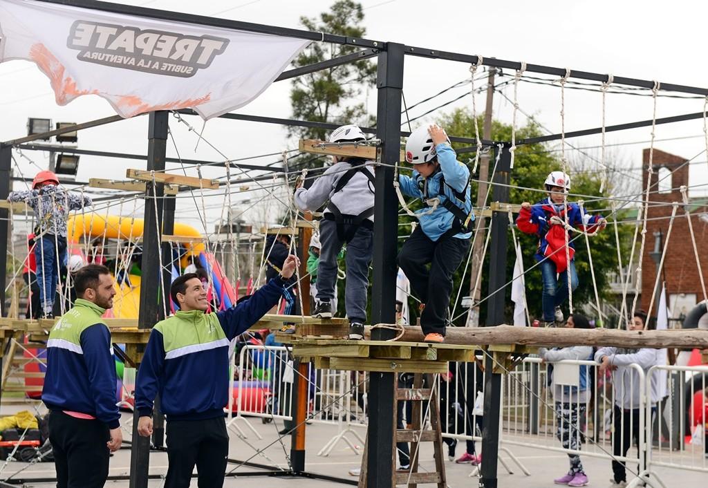 Shows artísticos, juegos y mucha diversión en el arranque del 'Mes del Niño' en San Fernando
