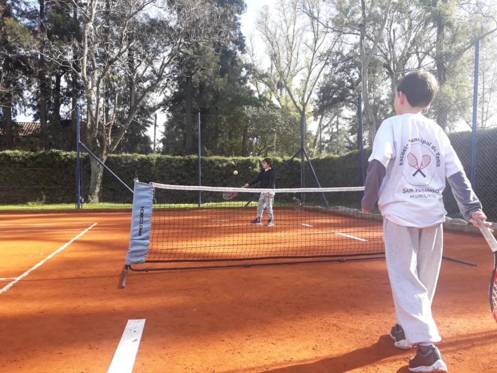 La Escuela de Tenis de San Fernando se sumó al Torneo Interescuelas Zona Norte