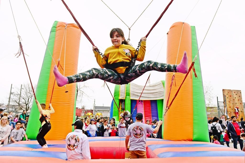 Los chicos siguen festejando y disfrutando del 'Mes del Niño' en San Fernando