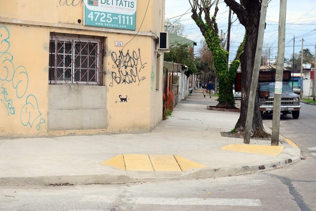 El Municipio avanza con el Programa SOL en el barrio Villa Nájera