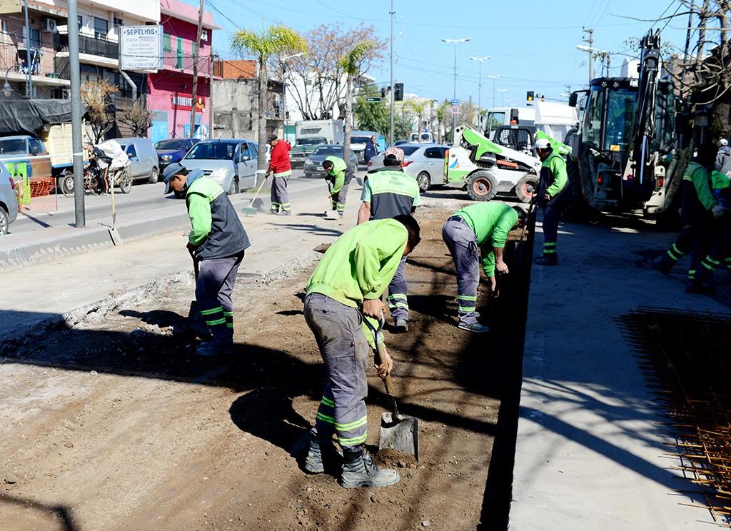 La Avenida Avellaneda cada vez más renovada y segura