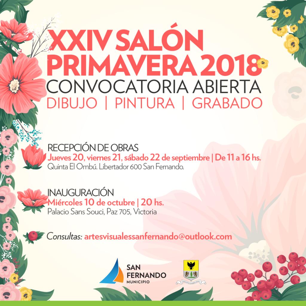 San Fernando recibe obras de dibujo, pintura y grabado para el XXIV Salón Primavera 2018
