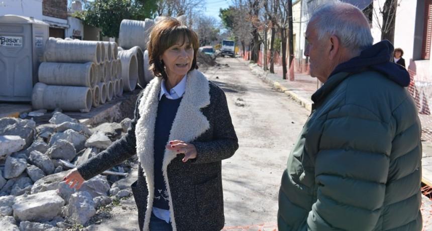 San Fernando renueva integralmente la calle Belgrano