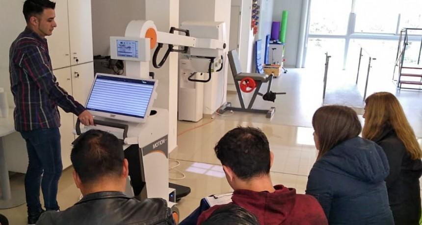 Personal del Hospital de Islas 'Do Porto' se capacitó para el uso del nuevo equipo de radiología