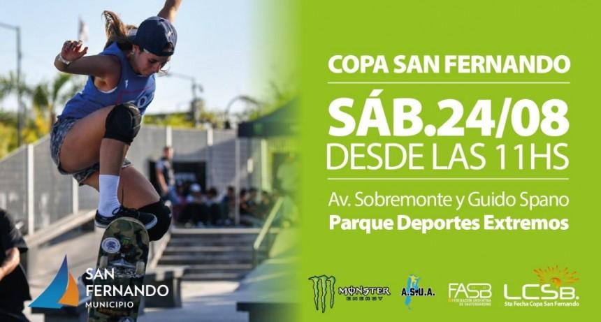 Este sábado se disputará la Copa San Fernando de Skate en el Parque de Deportes Extremos