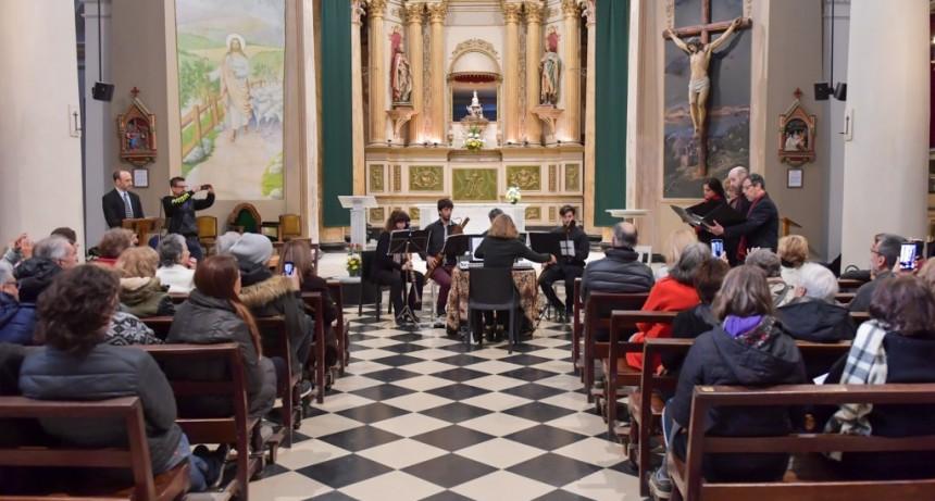 Los vecinos disfrutaron un Ciclo de Música Clásica en la Parroquia Aránzazu de San Fernando