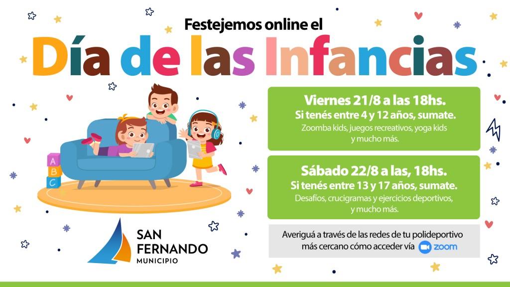 San Fernando continúa celebrando el 'Día de las Infancias' por plataformas virtuales