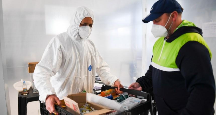 San Fernando: el personal de deportes del Municipio colabora en la asistencia sanitaria durante la pandemia