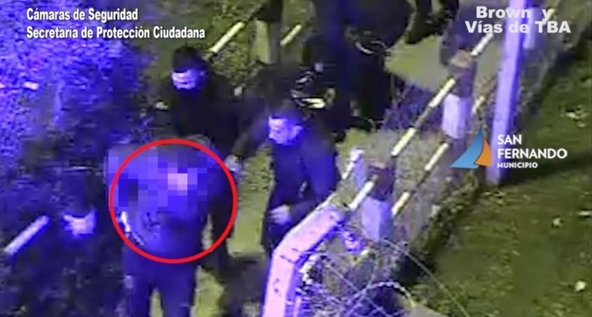 Patrullas y Cámaras de San Fernando logran detener a dos motociclistas con estupefacientes