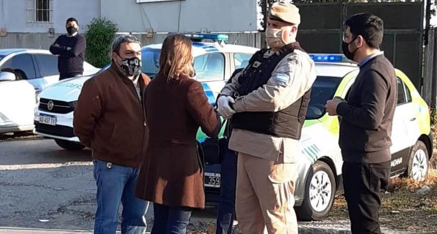 La Ministra de Seguridad de la Nación visitó un operativo de seguridad en conjunto con el Municipio de San Fernando