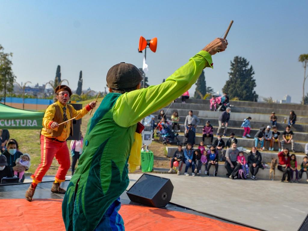 En el Parque del Bicentenario se realizó el cierre de Vacaciones de Invierno