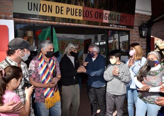 La Unión de Pueblos Originarios inauguró su local en el Puerto de Frutos