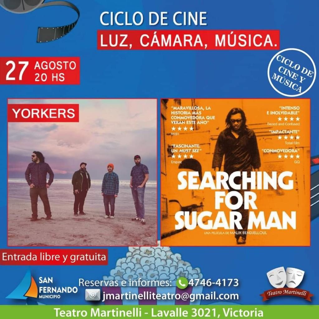 Fin de semana en San Fernando: cine, tango y seminarios en el Teatro Martinelli