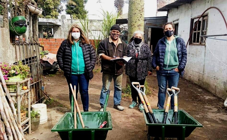 """Entrega de herramientas a la Comunidad Qompi: """"Nos seguimos fortaleciendo"""""""