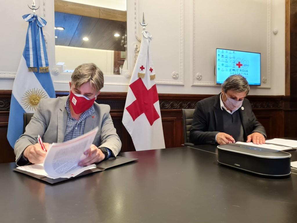 El Observatorio Humanitario de Cruz Roja Argentina y el Consejo Interuniversitario Nacional (CIN) realizarán investigaciones en todo el país