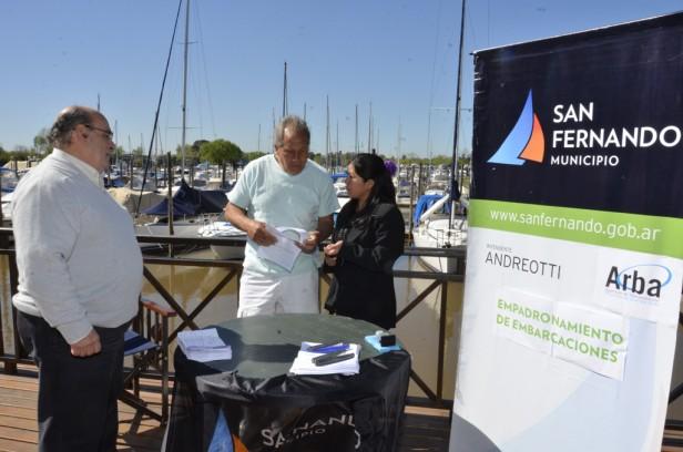 """Luis Andreotti: """"San Fernando tiene una capacidad de amarre de 10.100 embarcaciones, es imposible que haya 14 mil sin registrarse"""""""