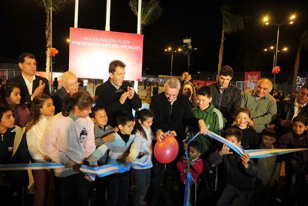 Benavidez recupera un nuevo espacio público para la familia