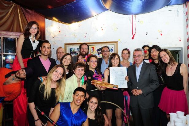 El Circo de las Artes ya cuenta con personería jurídica