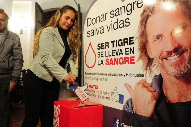 El móvil de donación de sangre continúa recorriendo todo Tigre