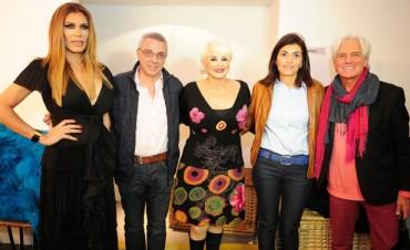 Carmen Barbieri y Flor de la V, ovacionadas en Tigre