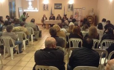 En la sede del Partido Justicialista de San Fernando se dieron cita autoridades del partido
